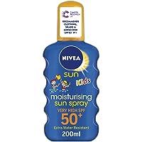 NIVEA SUN Kids Suncream Spray SPF 50+, Coloured, 200 ml