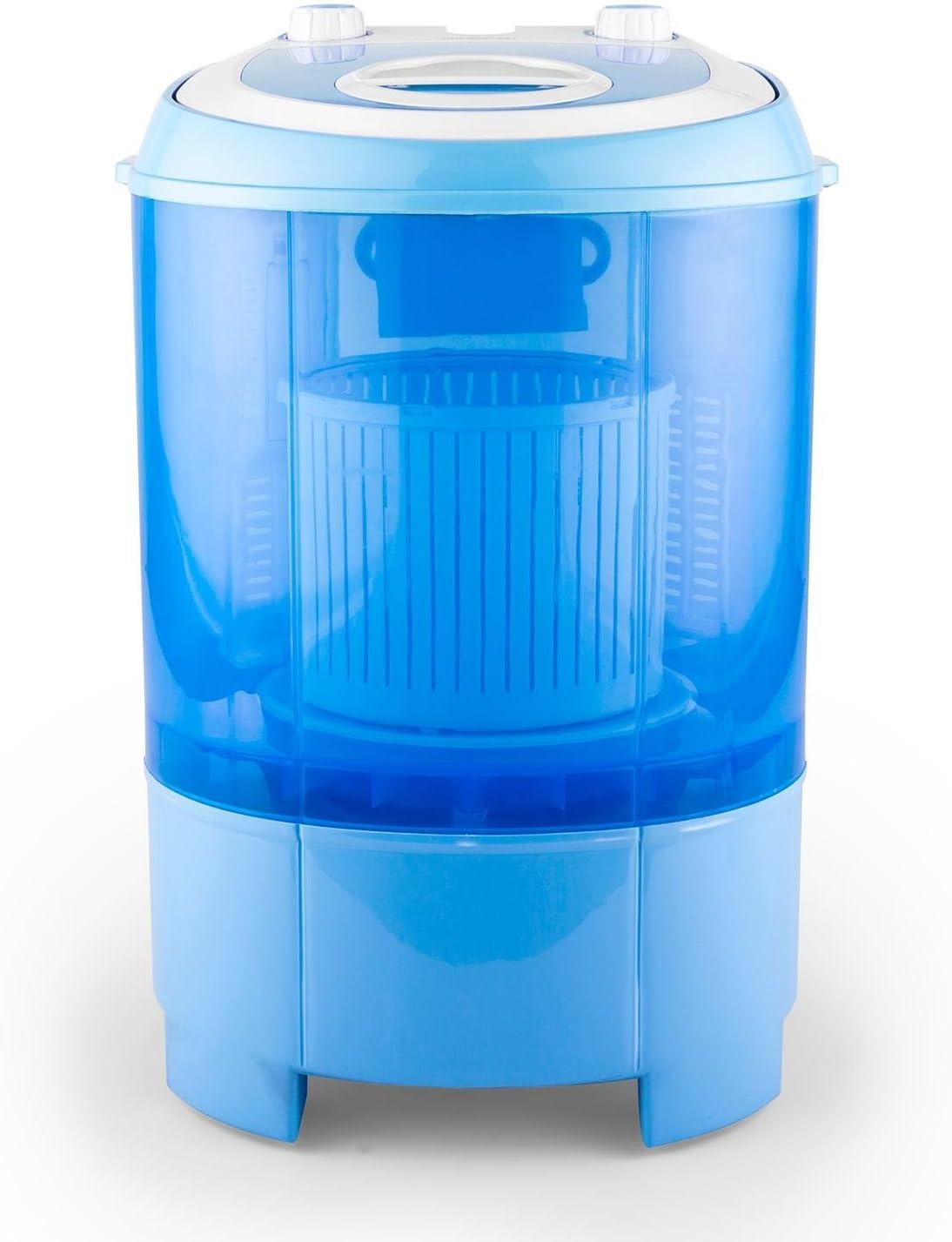 Oneconcept SG003 Camp Edition - Mini-Lavadora y centrifugadora, Capacidad de 2,8 kg, Potencia de 180 W, Bajo Consumo energético y de Agua, Lavadora para Camping, Ideal para Estudiantes