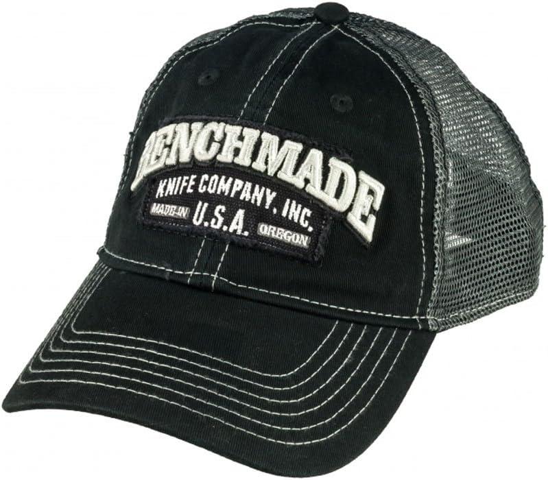 Benchmade Trucker Hat  Mesh Back Plastic Snap Closure