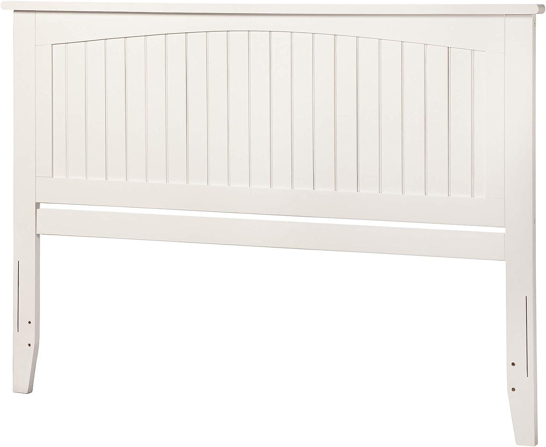Atlantic Furniture Nantucket Headboard, Queen, White
