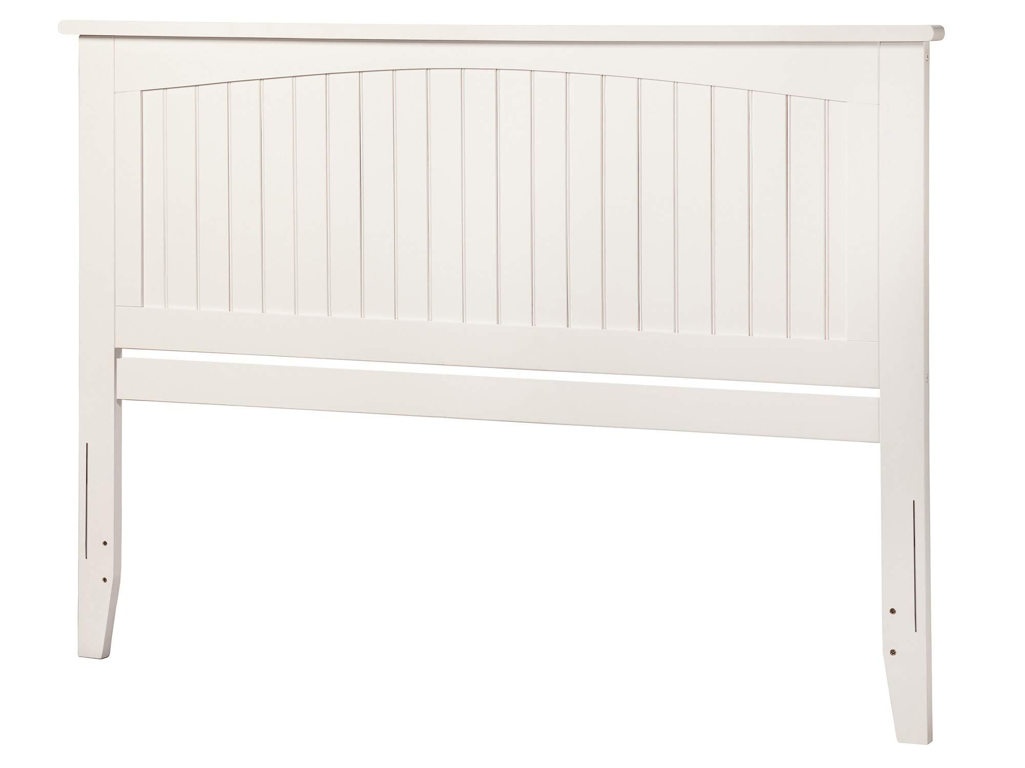 Atlantic Furniture AR282852 Nantucket Headboard, King, White