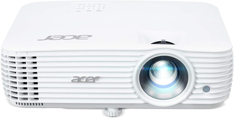 Acer X1626ah Projektor Wuxga Kontrast 10 000 1 Helligkeit 4 000 Ansi Format 16 10 Vga Mhl Hdmi Integrierte Lautsprecher Weiß Heimkino Tv Video