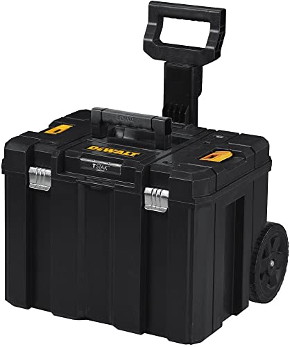 Heavy Duty Rolling Toolbox with Foldable Comfort Handle Removable Top Storage Chest Cabinet Storage Box, Garage Toolbox Organizer