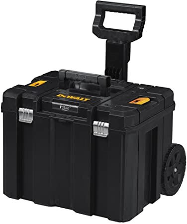 DEWALT Tool Box with Wheels, TSTAK, Deep Box (DWST17820)