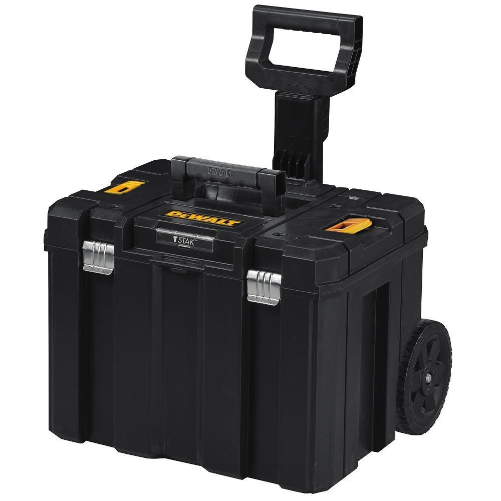 DEWALT DWST17820 TSTAK Mobile Storage Deep Box On Wheels,