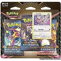 Triple Pack Pokémon Bunnelby Destinos Brilhantes