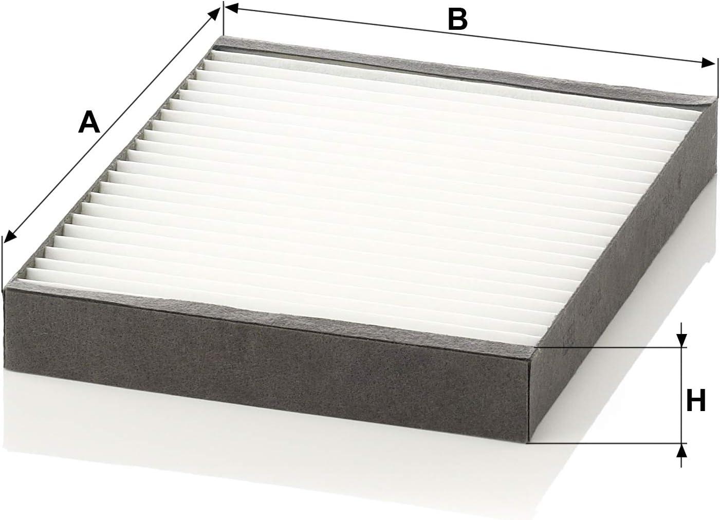Mann Filter CU2513 Filtro Aire Habit/áculo