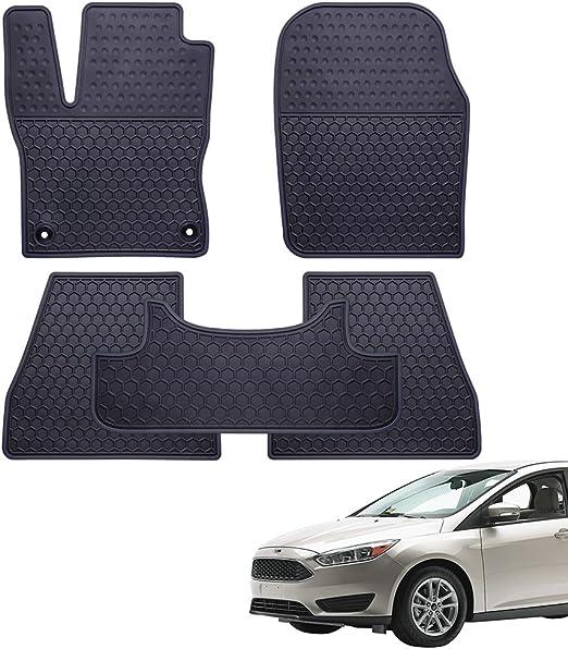 Ford Focus Estate-Premium Hd Completamente Impermeable Coche Cubierta De Algodón Forrado De Lujo