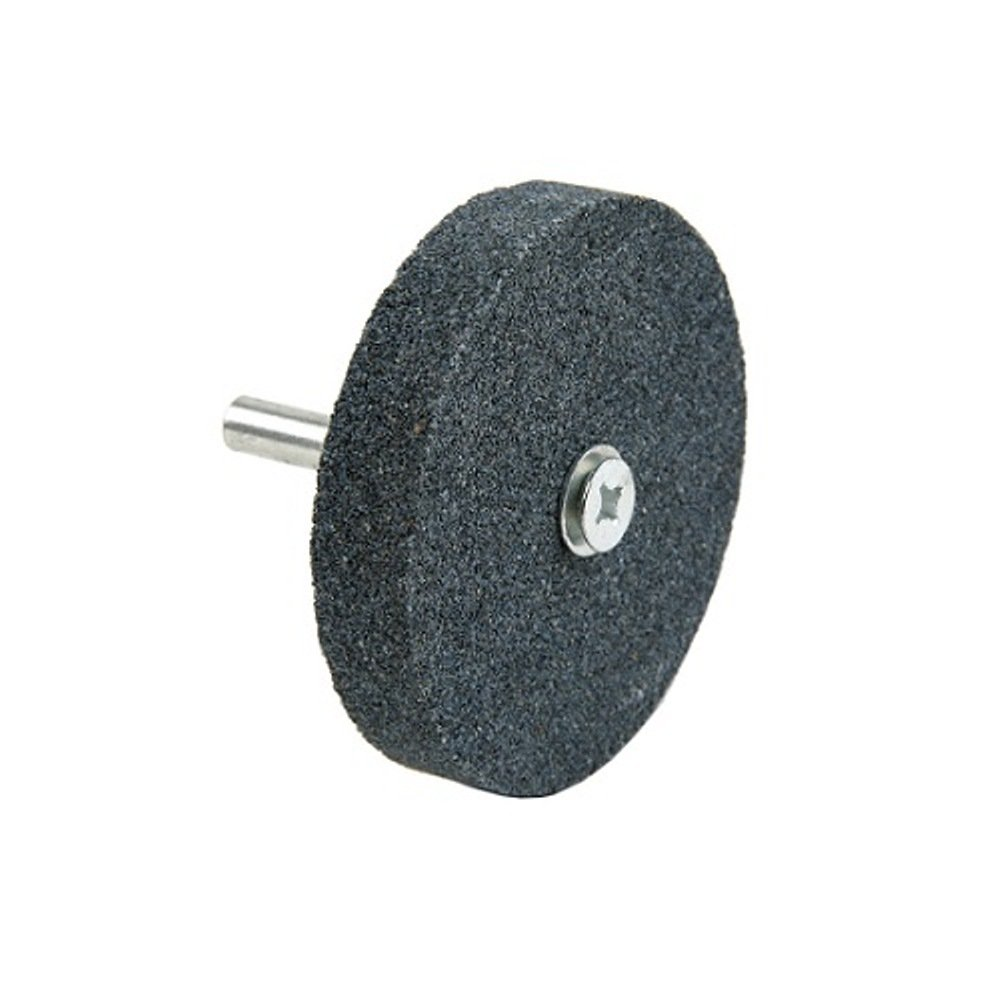 Lincoln Electric KH110 Mounted Grinding Wheel, Aluminum Oxide, 3450 RPM, 2-1/2'' Diameter x 1/2'' Width, 60 Grit, Black (Pack of 3)
