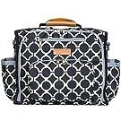 Bateman Bags Sleek City Dweller Convertible Designer Diaper Bag 17x8x11-Inch with Changing Mat, 25x31-Inch