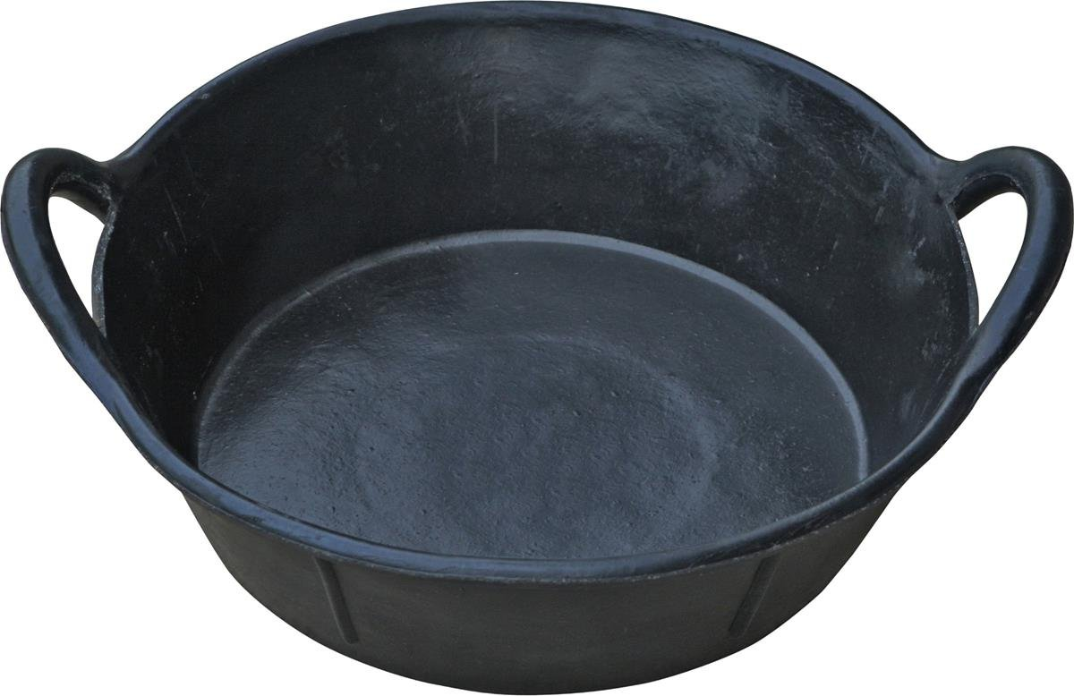 LITTLE GIANT Miller CO Rubber Pan with Handles, 3 Gallon, Black by LITTLE GIANT