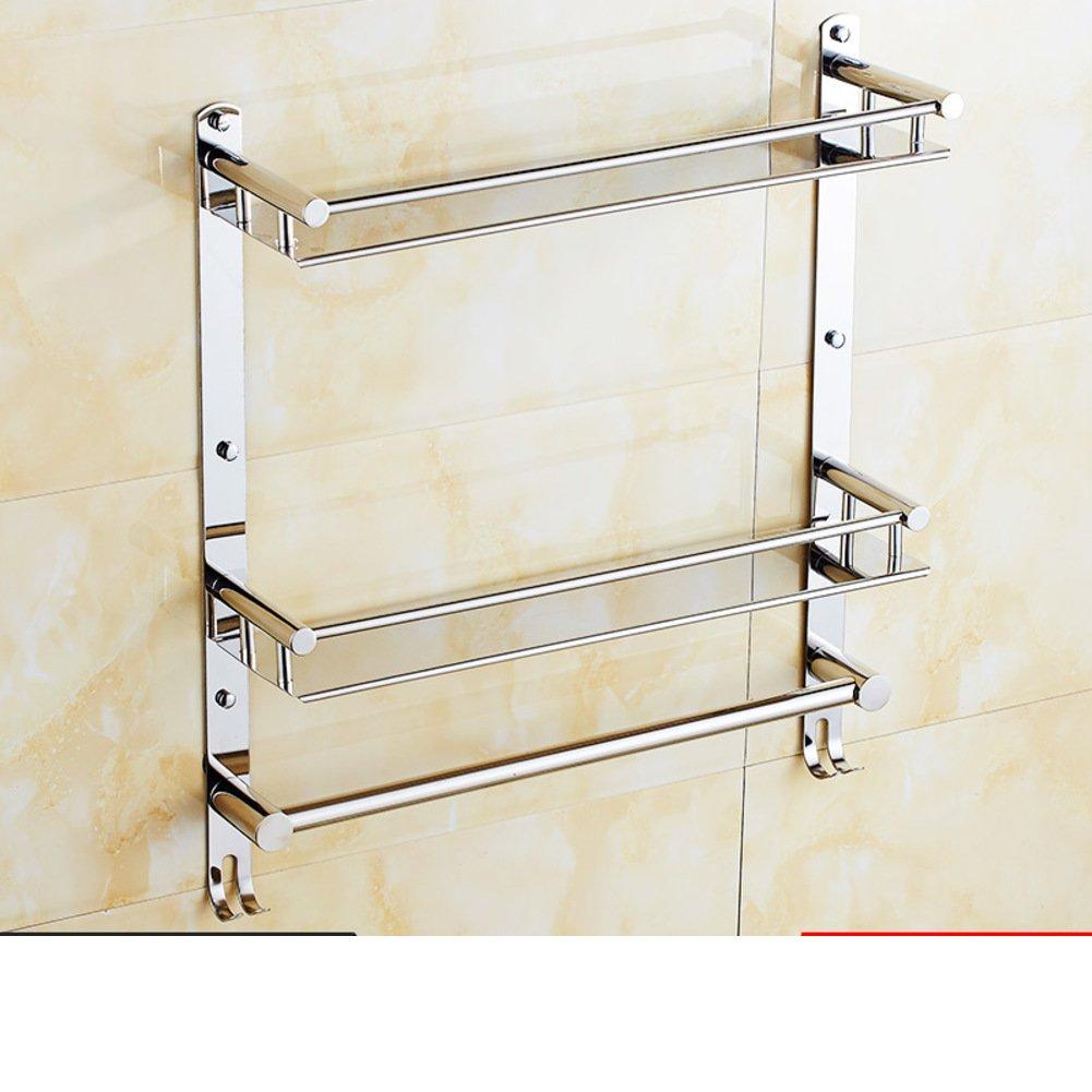 30 off stainless steel bathroom shelf the shelf in the bathroom bathroom wall o for Stainless steel bathroom wall shelf