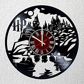 Harry Potter 12 INCHES /30 CM Vinyl Record Wall Clock - Poster - Hogwarts - kids room wall decor - Gift ideas for boys girls, teens, friends – Art Design of ...