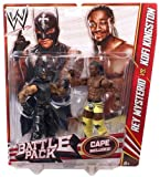 WWE Battle Pack Rey Mysterio vs. Kofi Kingston Action Figure, 2-Pack