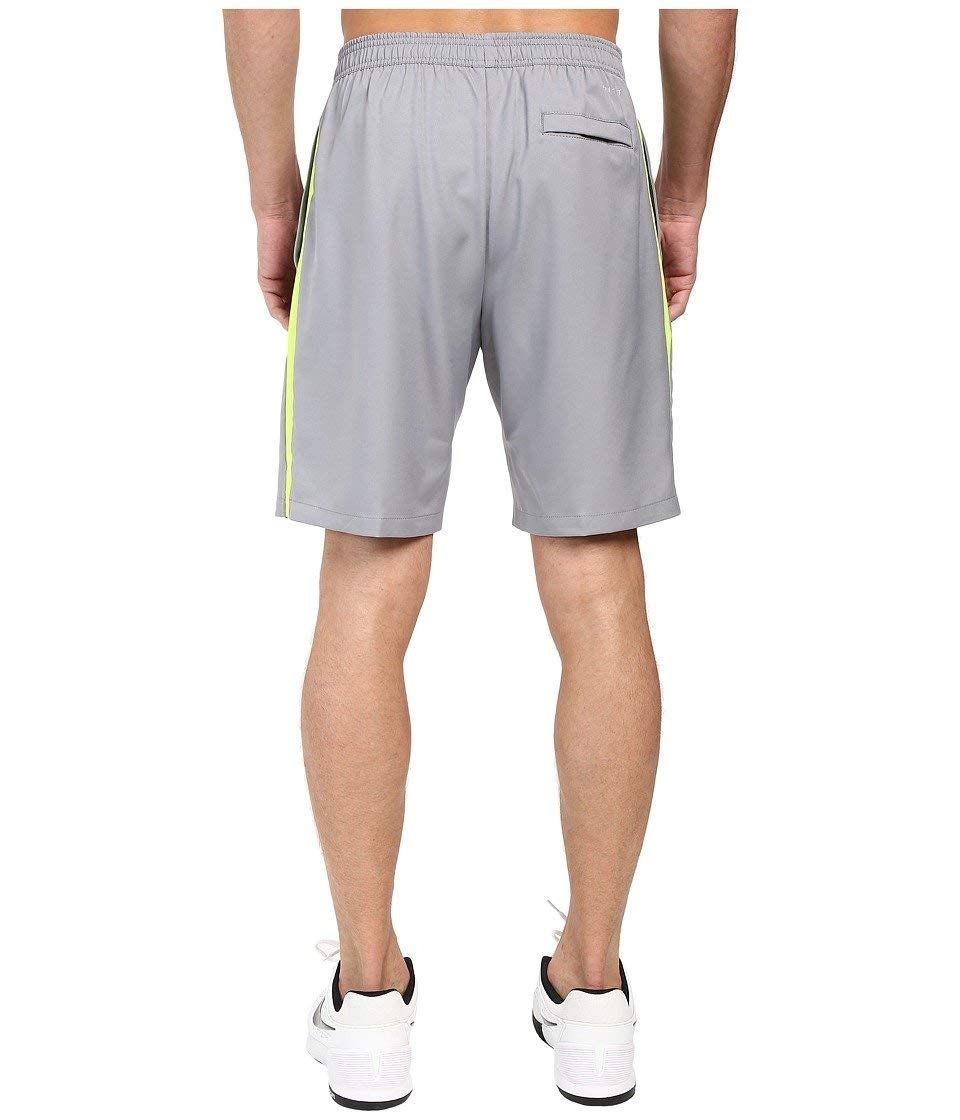 Nike Men's Court 9'' Short, Stealth Volt, 2XL X 9 by Nike (Image #3)