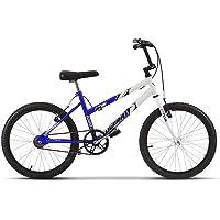 Bicicleta Ultra Bikes Bicolor Feminina Aro 20 Infantil Branco/Azul
