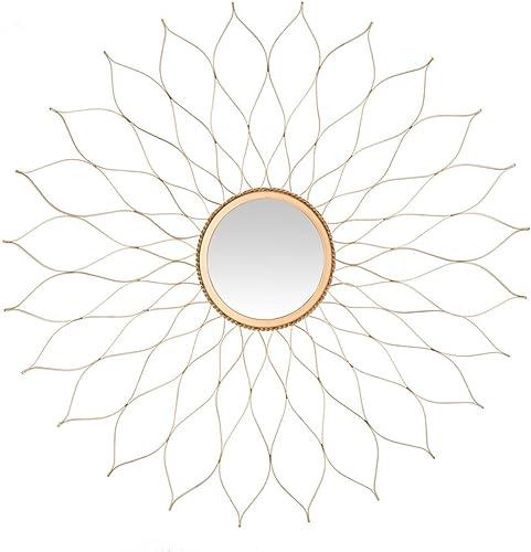 Safavieh Home Collection Gold Flower Mirror