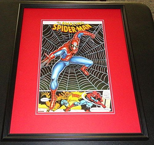 1977 Amazing Spider-Man Thought Factory Framed 10×15 Poster Official R