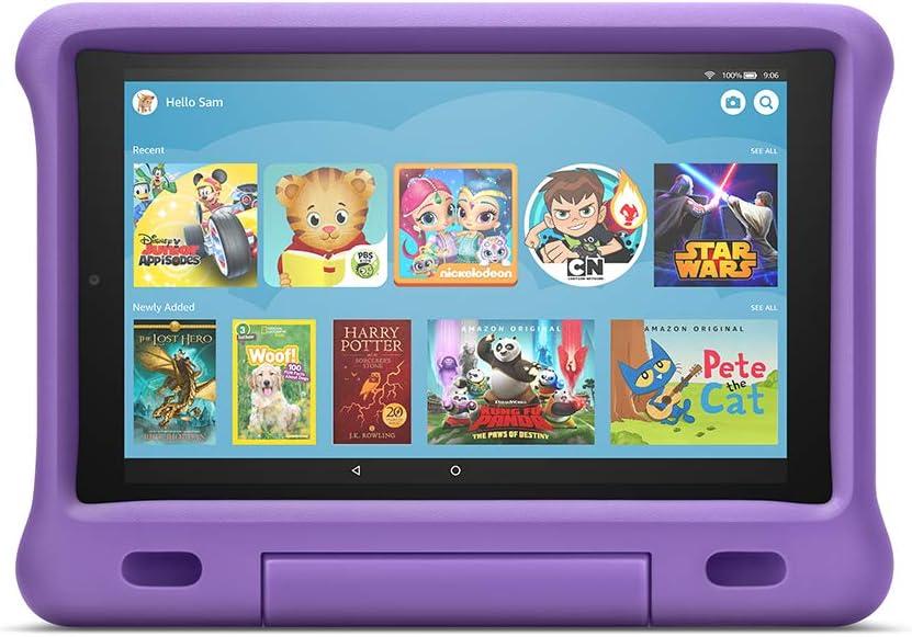 Funda para la tablet Fire HD 10 version 7 y 9, 2017...-LRC1