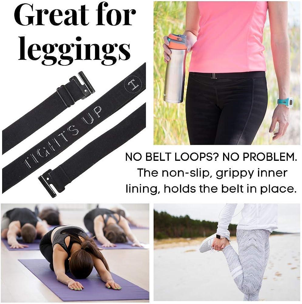 bequemer rutschfeste R/ückseite Kann mit Strumpfhose // Leggings // Jeans // Uniformen getragen werden dehnbarer Tights Up weicher G/ürtelschlaufen unn/ötig flacher Schnalleng/ürtel Verstellbare