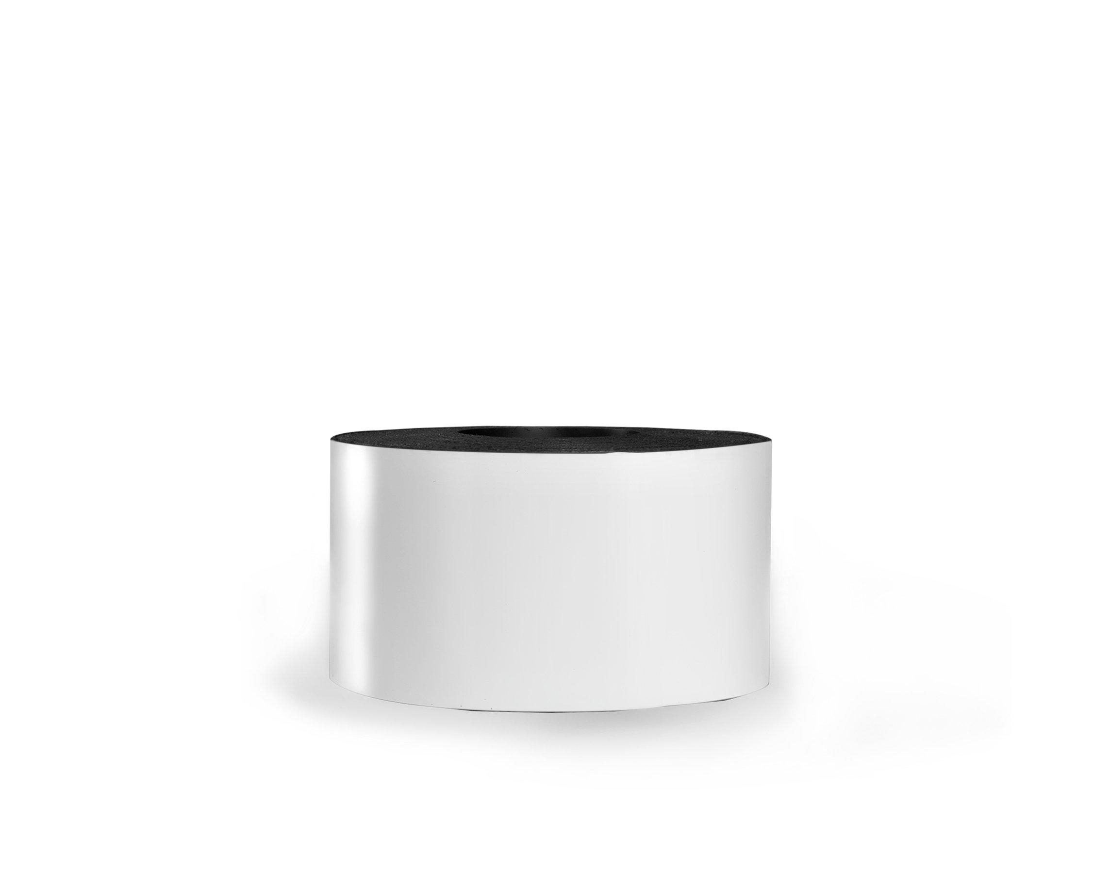 30 Mil Dry Erase Magnetic Strip Roll - White - 3'' X 25'