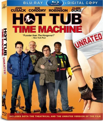Hot Tub Time Machine (Unrated) [Blu-ray]