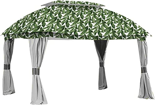 Garden Winds Replacement Canopy for The Sam s Club Dome Gazebo – Standard 350 – Palm