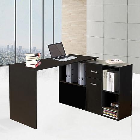 Genérico * Esquina de Oficina hogar rner Escritorio C Ordenador ...