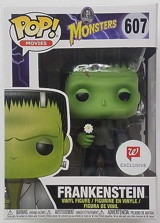 Figur 9 Cm Funko Universal Monsters Frankenstein Flower Pop Film-fanartikel Aufsteller & Figuren