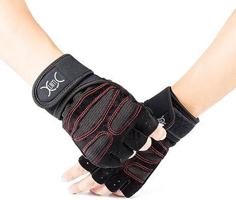 Anti-d/érapant Gants de Sport Respirants pour Hommes Femmes Gymnastique Levage de Poids Gants de Musculation avec Soutien au Poignet /& Protection Paume WACCET Gants de Fitness