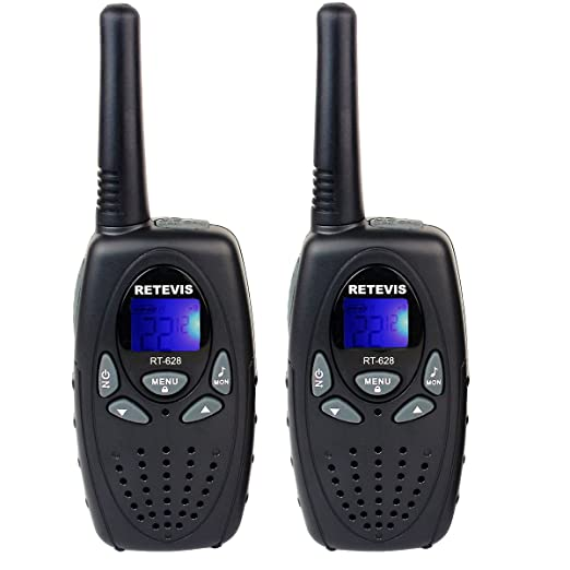 Retevis RT628 VOX UHF Portable 22 Channel FRS/GMRS Kids Walkie Talkies Review