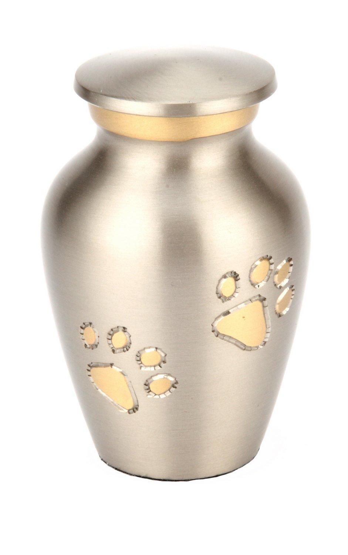 Urns UK Matlock Urne funéraire en étain pour animal de compagnie 7, 5 cm UU510006B
