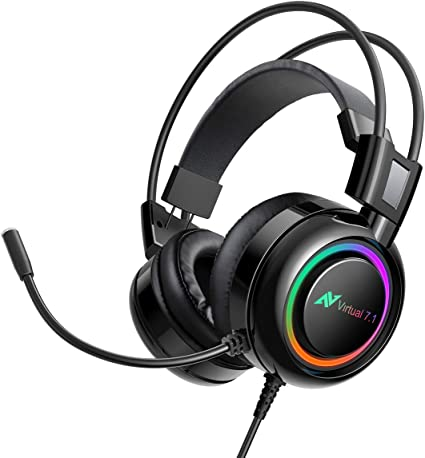 ABKONCORE Gaming Headset for PS4, PC, Laptop, PS4: Amazon.co