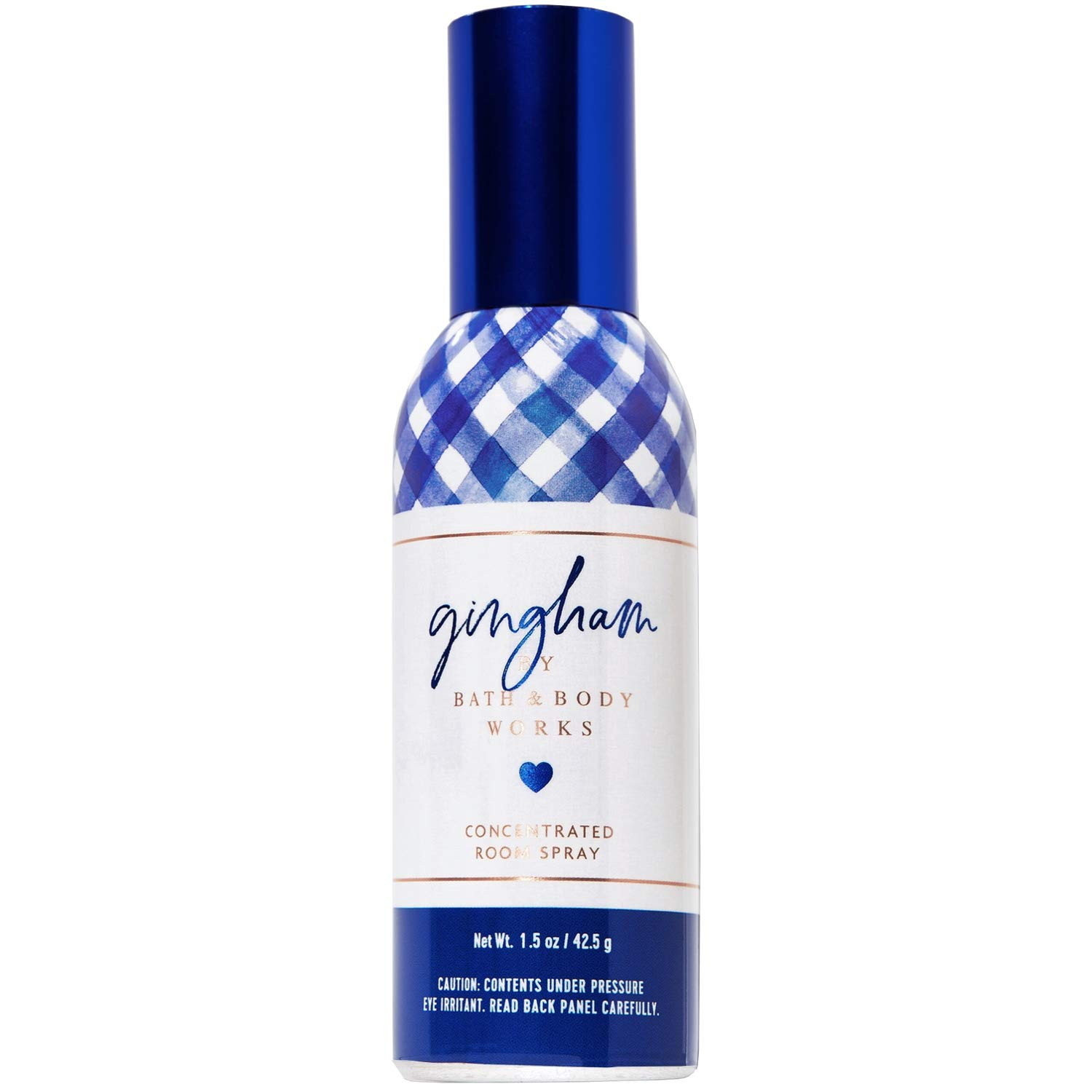 Bath and Body Works Gingham Concentrated Room Spray 1.5 Ounce (2019 Limited Edition)