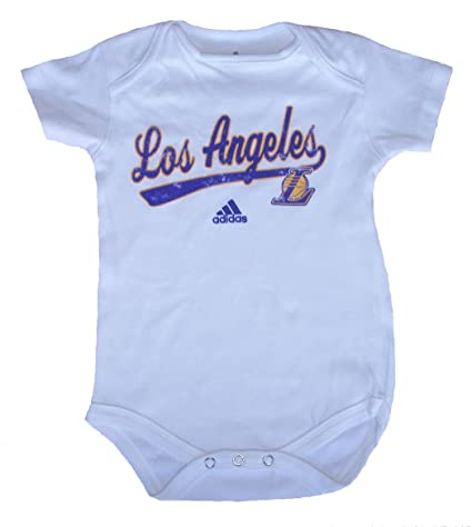 aca2df8391d Amazon.com  Los Angeles Lakers Infant Bodysuit Onesie Creeper Size ...