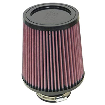 K&N Universal Clamp-On Air Filter: High Performance, Premium, Washable, Replacement Filter: Flange Diameter: 3 In, Filter Height: 6.5 In, Flange Length: 1.75 In, Shape: Round Tapered, RU-4730: Automotive [5Bkhe1008205]
