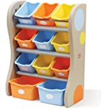 Step2  Fun Time Room Organizer Bins, Tropical