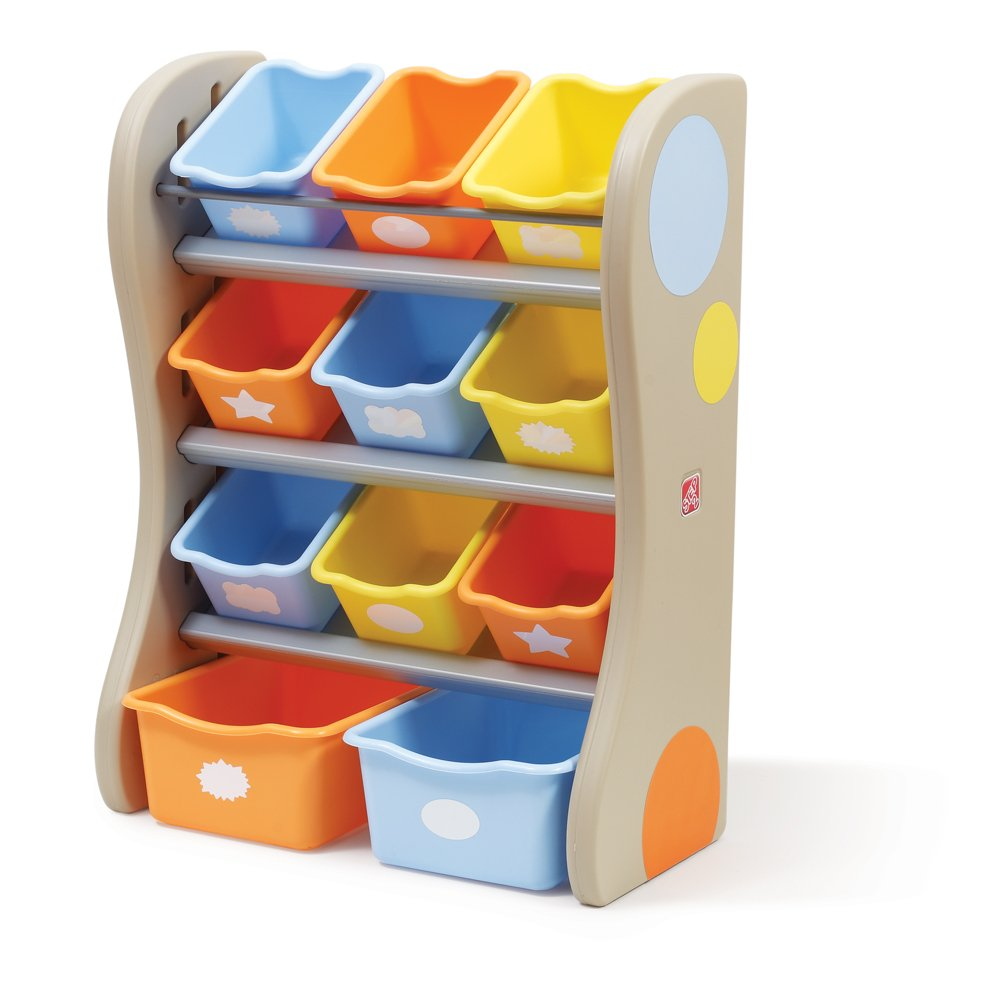 Step2 Fun Time Room Organizer And Toy Storage, Tropical by Step2