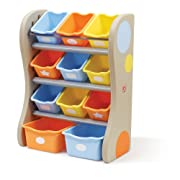 Step2 Fun Time Room Organizer And Toy Storage, Tropical