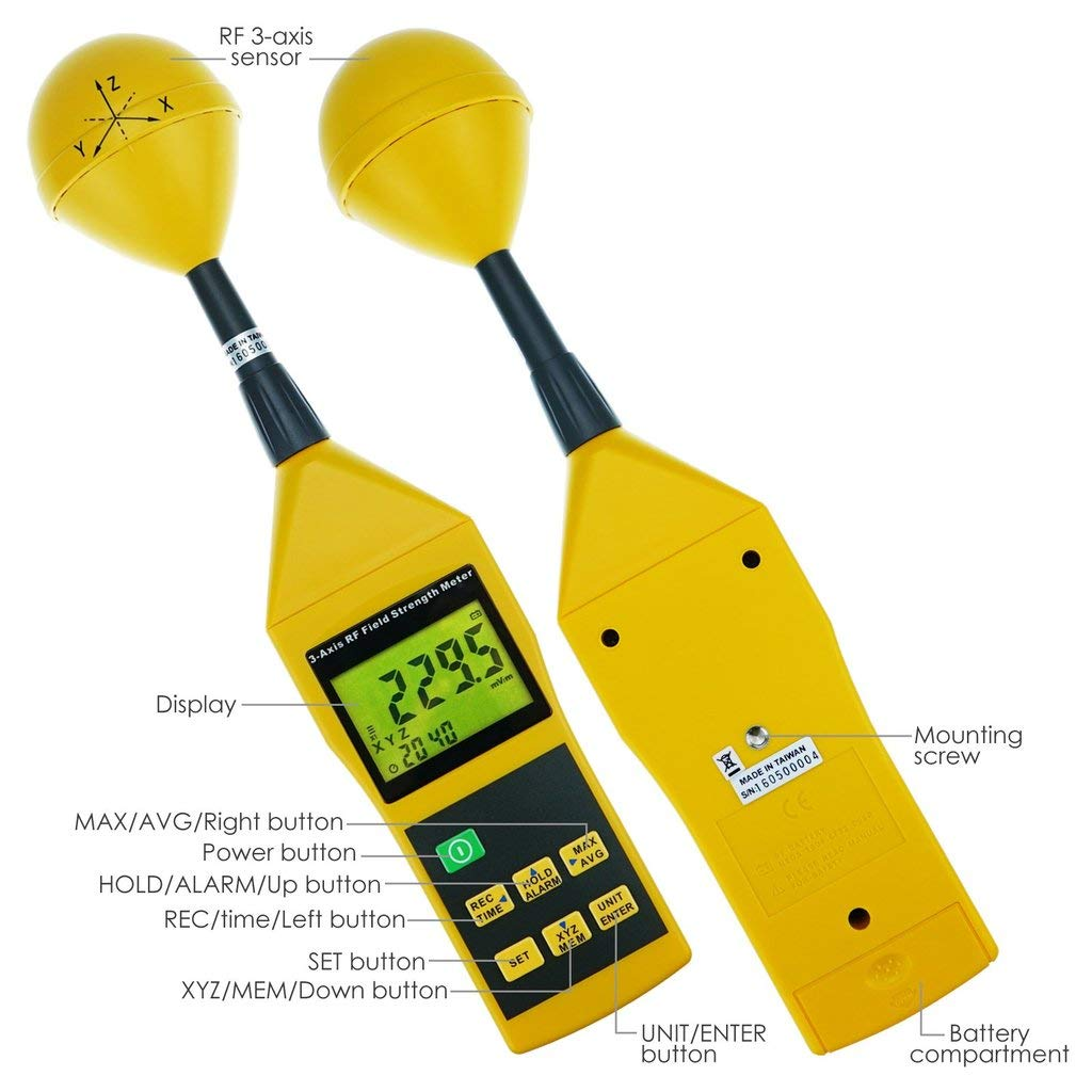 Microwaves - Cell Phones/Towers ElectroSmog WiFi RF-8GZ