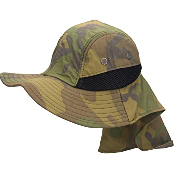 f43e13b397f Military Camouflage Boonie Fishing Hiking Snap Brim Hat Cap Army Military  Sun Protection Fishing Hat Breathable