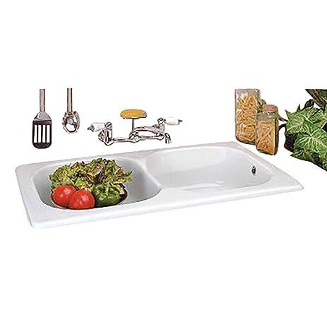 Kitchen Sinks White Porcelain Kitchen Sink Cesame Italian