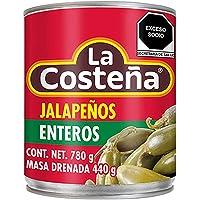 la Costeña, la Costeña Chile Jalapeño Entero 780 Gr, 780 gramos