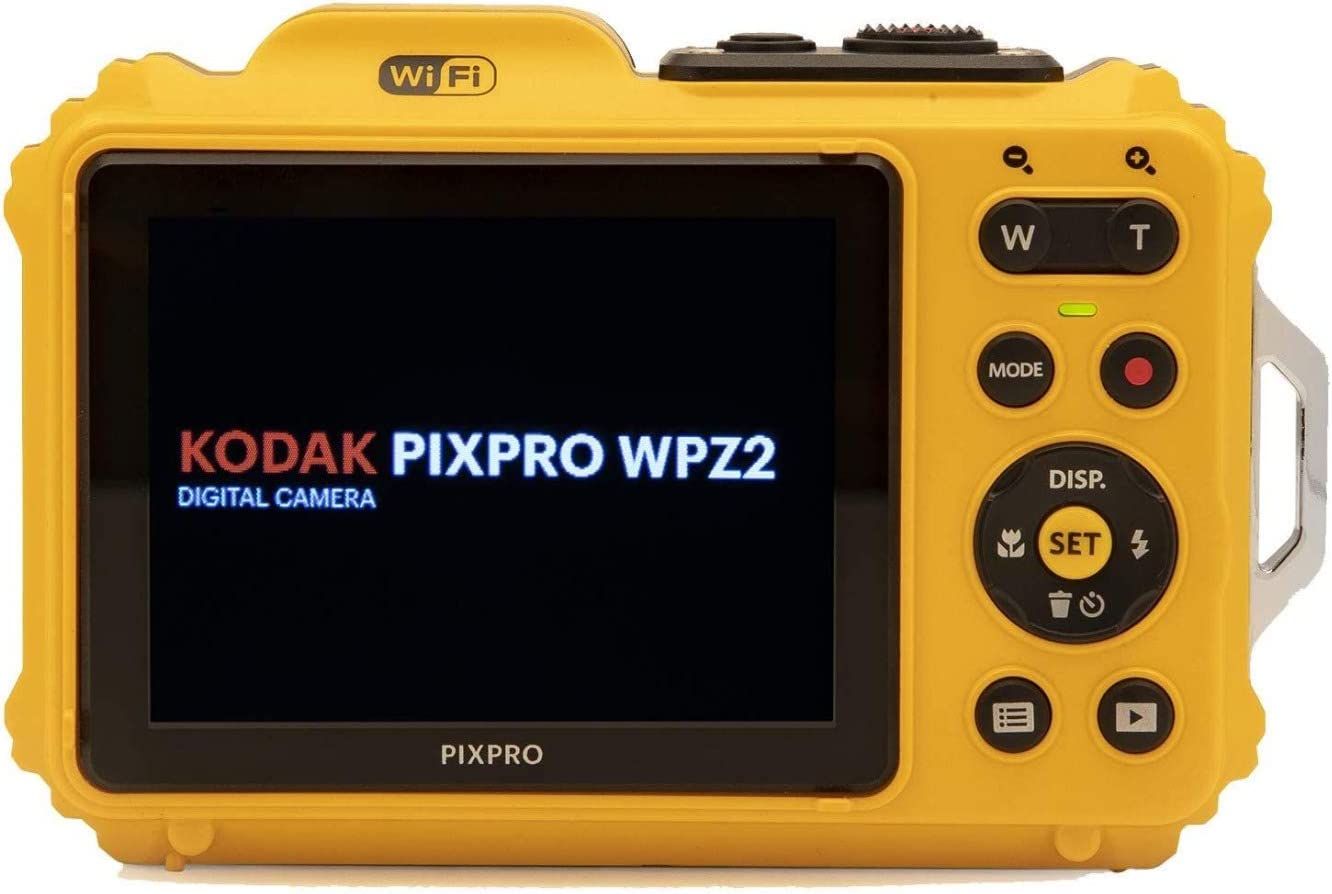 2 Items Kodak PIXPRO WPZ2 Rugged Waterproof 16MP Digital Camera with 4X Optical Zoom and Kodak 32GB microSDHC Card with Adapter Bundle