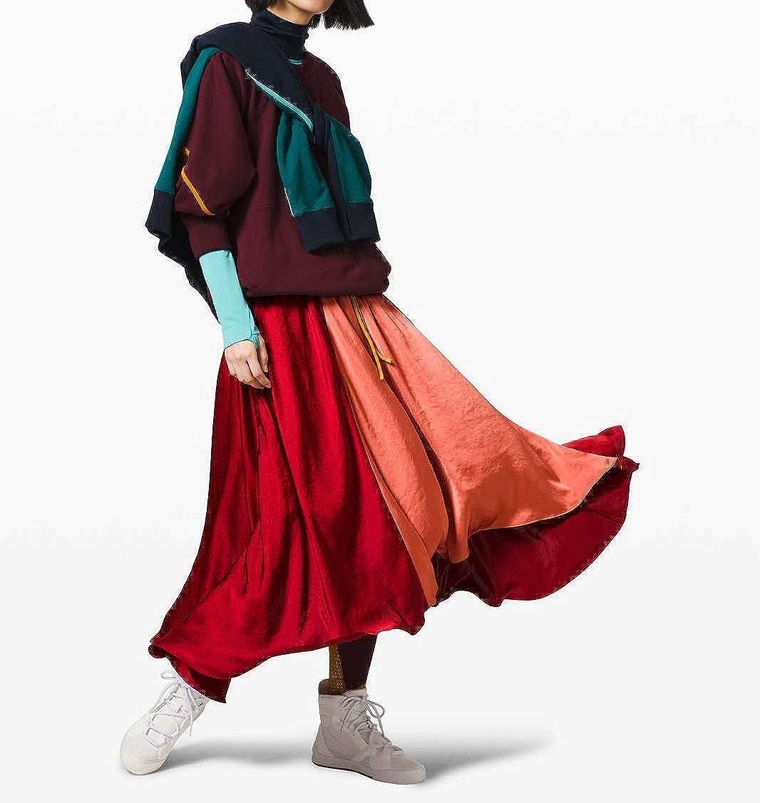 LULULEMON X ROKSANDA Face Forward Skirt (True Navy/Emerald/Frost) …, Large at  Women's Clothing store