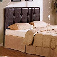 4D Concepts Rectangular Shaped Headboard, Brown