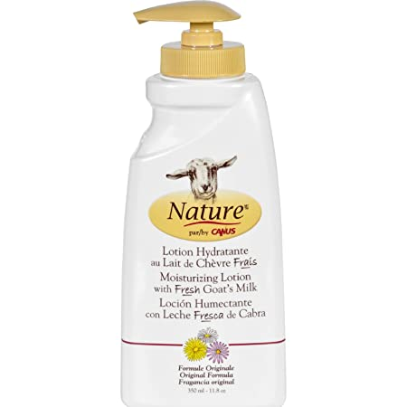Amazon.com : Nature By Canus Lotion - Goats Milk - Nature - Original Formula - 11.8 oz : Beauty
