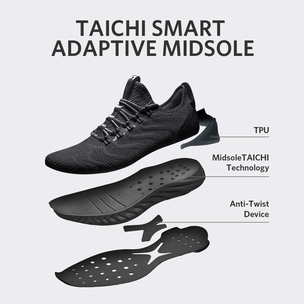 PEAK TAICHI King Womens Adaptive Smart Cushioning Running Shoes Sneakers for Running Fitness Gym Walking
