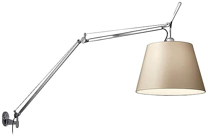 Artemide tolomeo mega lampada parete on off carta pergamena
