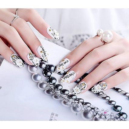 Qulin, uñas postizas de uñas artificiales, de tamaño grande ...
